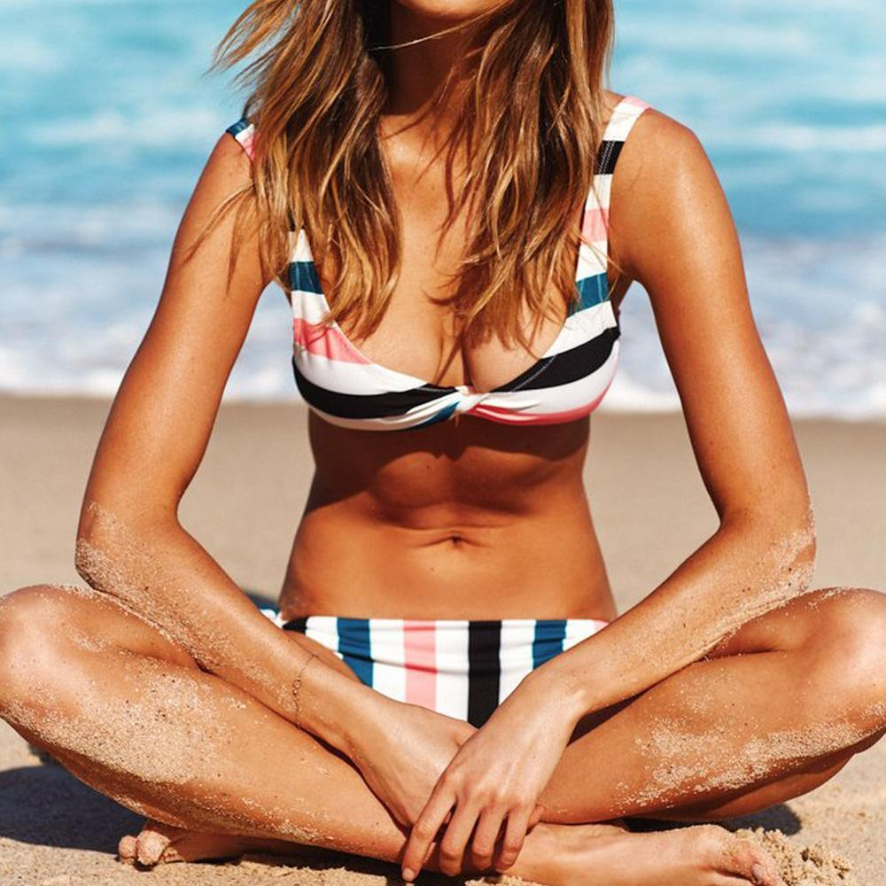 Sandy Striped Bikini
