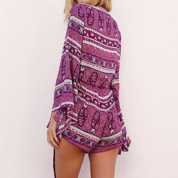 Casual Beach Playsuit