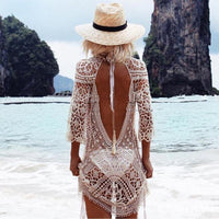 Backless Boho Beach Dress