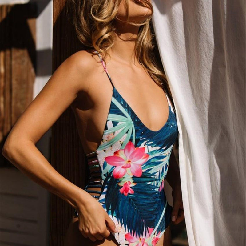 Tropical Flowers One Piece