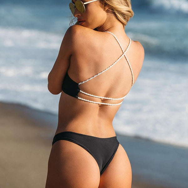 Crossed Back Bikini