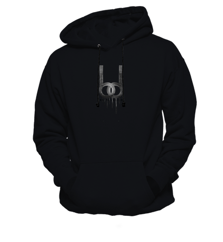 Dripping Logo Hoody