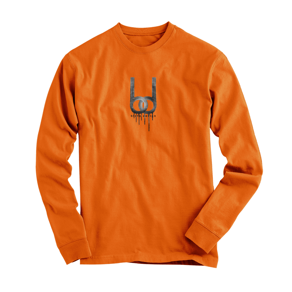 Dripping Logo Long Sleeve T