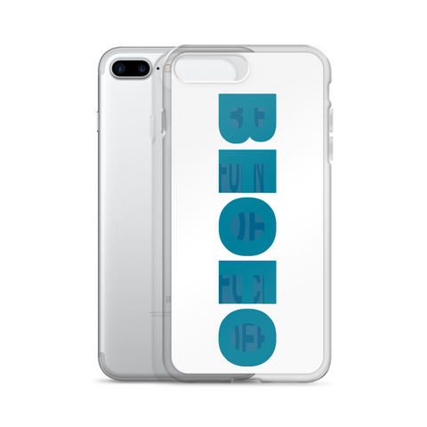 iPhone Case Hidden Squares Logo