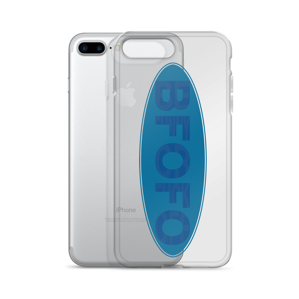 iPhone Case Oval Hidden Logo