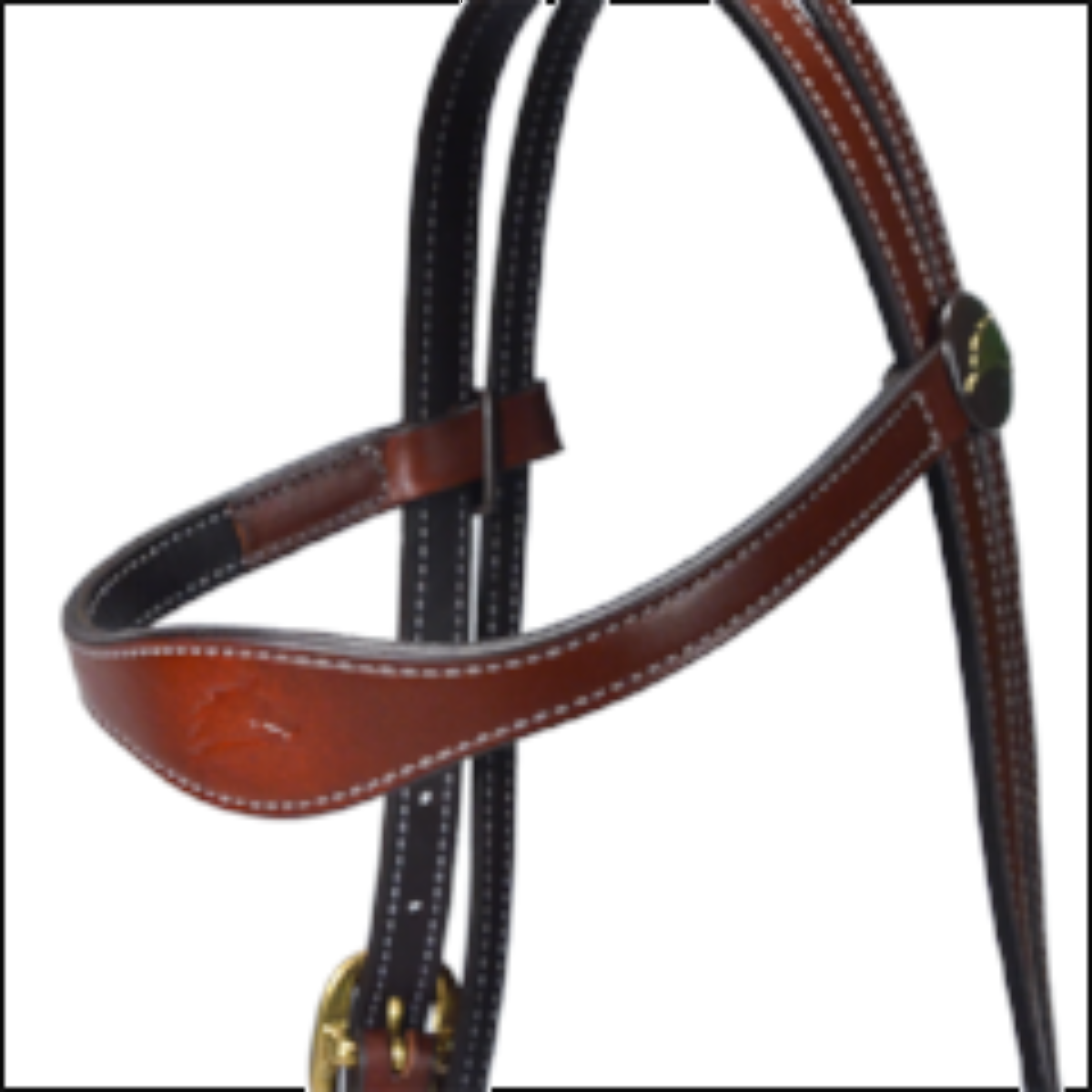 Brown Country Headstall Only