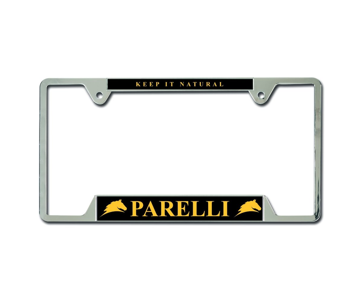 Parelli License Plate Frame