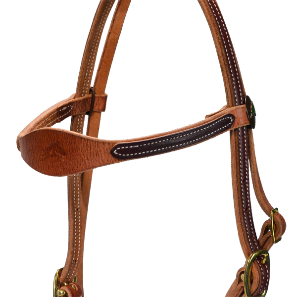 Natural West Headstall Only