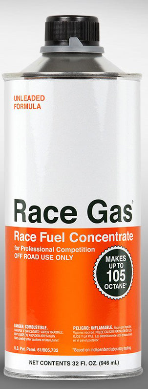 Race Gas Fuel Additive Turn Pump Gas into Race Gas! Up to 105 Octane 32oz