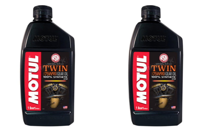 2 Containers Motul Twin Gear Oil 108064 1 Quart
