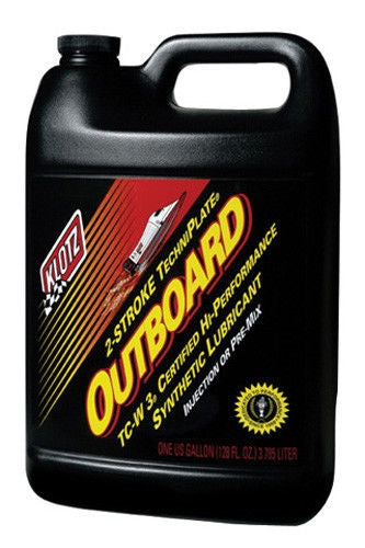 Klotz Lube Oil Outboard TechniPlate TC-W3 2-Cycle Synthetic 1 Gallon