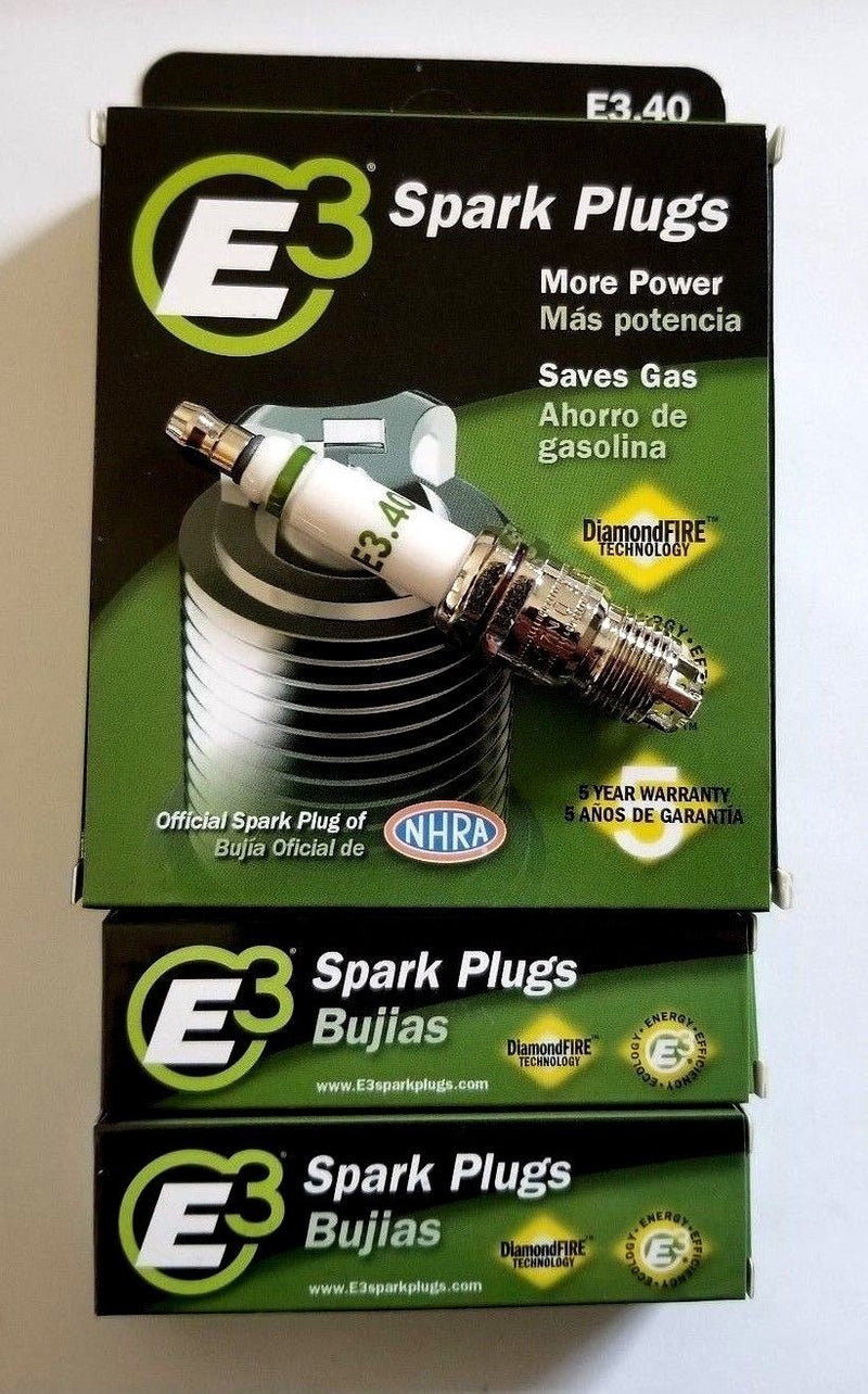 6 Plugs for E3.40 E3 Premium Automotive Spark Plugs -100,000 miles or 5 years
