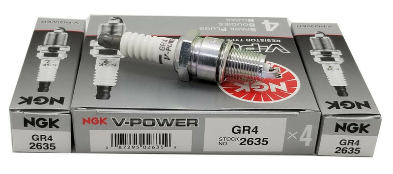 6 Plugs NGK GR4/2635 V-Power Premium Power Spark Plugs