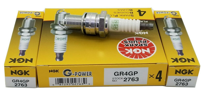 6 Plugs NGK GR4GP/2763 G-POWER Platinum Spark Plugs