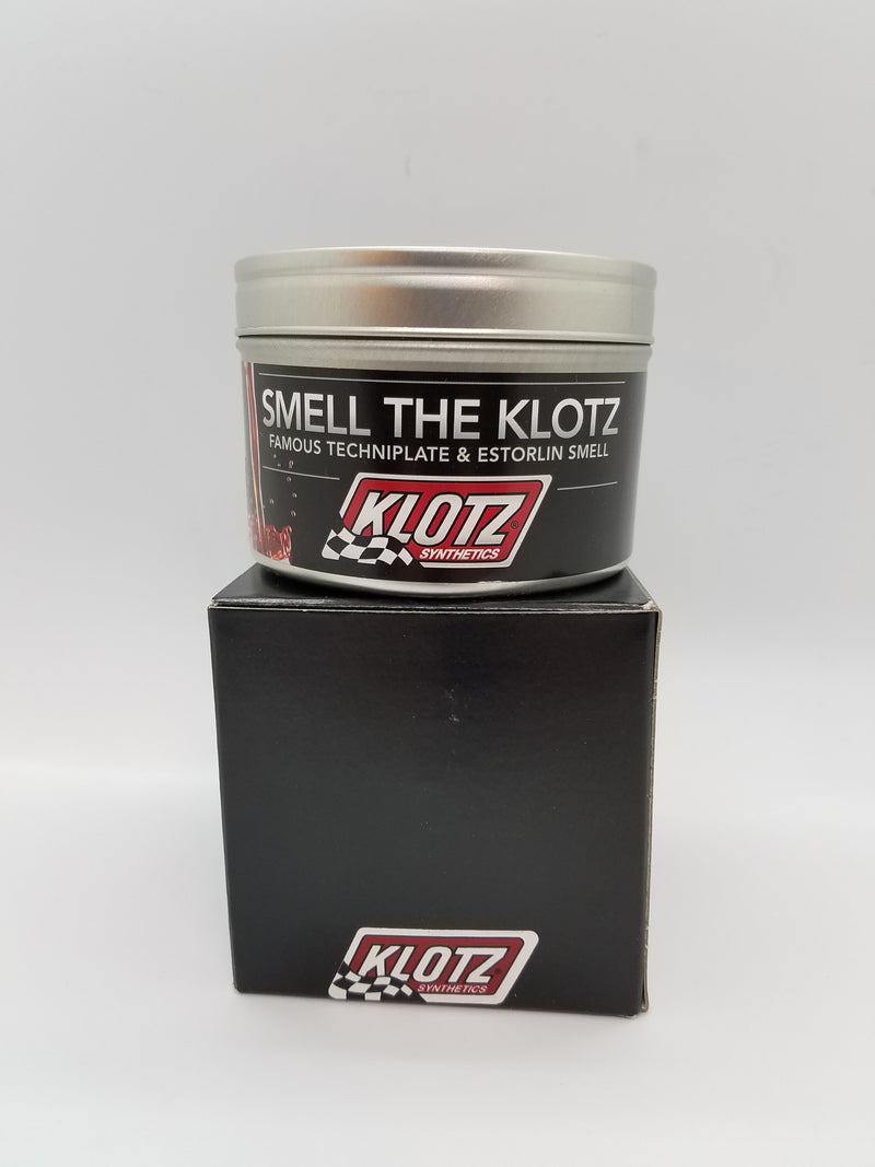 "Klotz Candle Famous Technoplate & Estorlin ""Smell The Klotz"" for $26.95 at NE Cycle Shop"