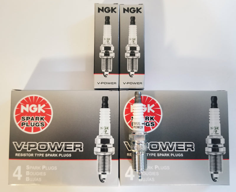 10 NGK SPARK PLUGS TR55 3951 V-POWER