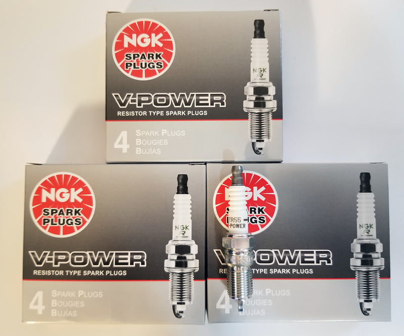 12 NGK SPARK PLUGS TR55 3951 V-POWER