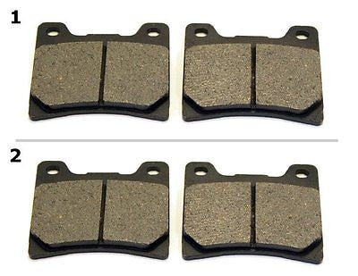 FA088 2 SETS FRONT BRAKE PAD FITS: 1985 YAMAHA FZ 400 N (IKF/46K/33M) for $15.93 at NE Cycle Shop