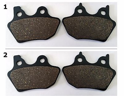 FA400 2000-2003 HARLEY XLH SPORSTER 883 FRONT AND REAR BRAKE PADS for $26.55 at NE Cycle Shop
