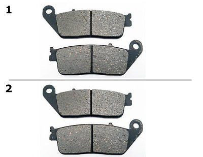 FA142 2 SETS FRONT BRAKE PAD FITS: 2013 SUZUKI AN 650 ZL3 Burgam ABS Executive for $15.93 at NE Cycle Shop