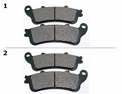 FA261 2 SETS FRONT BRAKE PAD FITS: 2003-2006 HONDA XL 1000 Varadero - Non ABS for $15.93 at NE Cycle Shop
