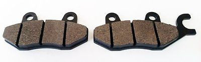 "FA165 1 SET FRONT BRAKE PAD FITS: KAWASAKI KLF 300 C1-C17 ""Bayou"" (left) for $13.12 at NE Cycle Shop"