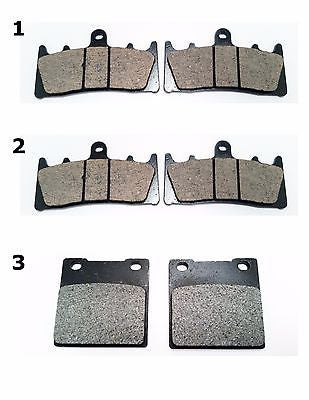 FA188 FA161 1997-2000 KAWASAKI ZRX 1100 FRONT & REAR BRAKE PADS for $18.73 at NE Cycle Shop