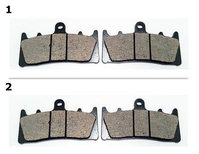 FA188 1 SET FRONT BRAKE PAD FITS: 2000-2001 KAWASAKI ZX 9 R (ZX 900 E1/E2) for $15.93 at NE Cycle Shop