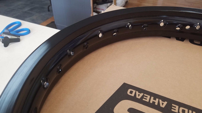 SRT REPLACEMENT FRONT RIM 21x1.60 MOTOCROSS RIM BLACK for $89.99 at NE Cycle Shop