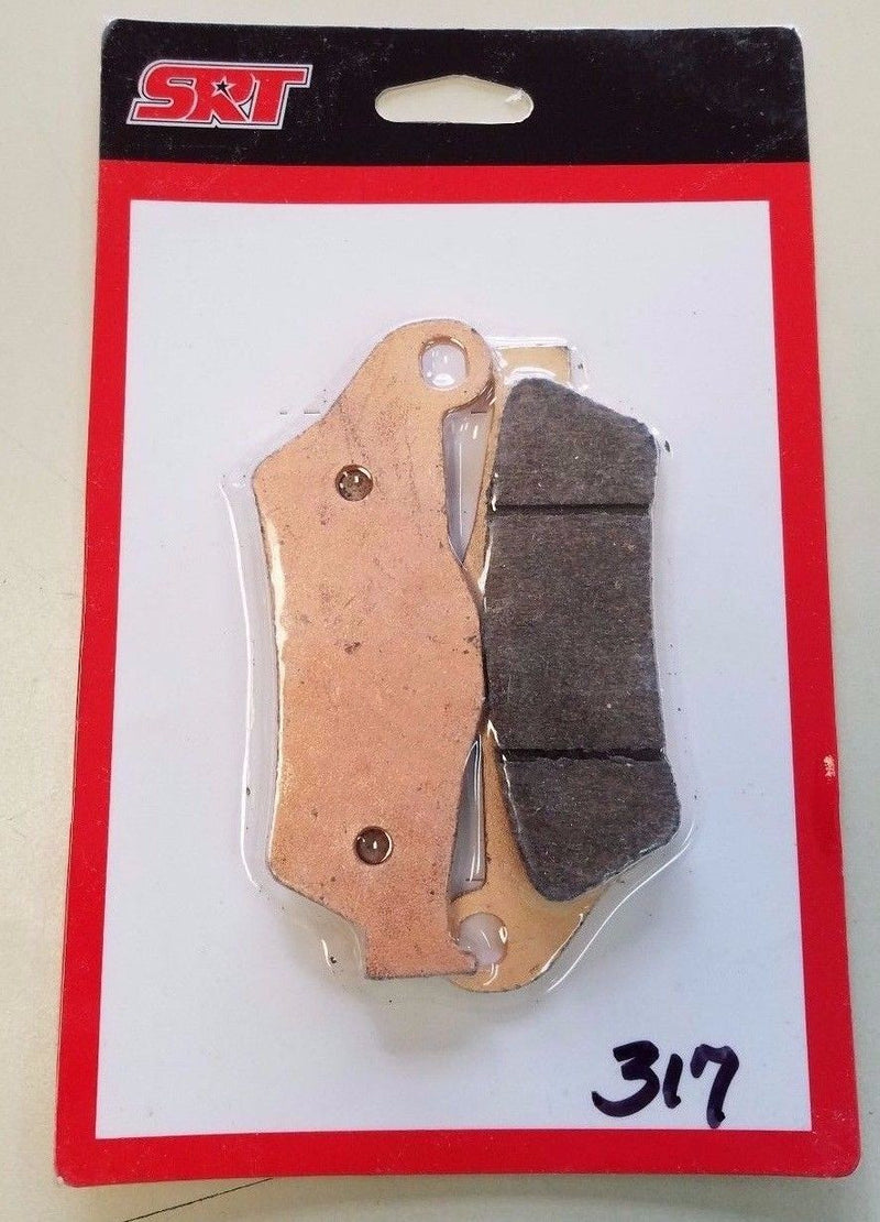 2008-2009 KTM XC-F 450 FRONT SINTERED BRAKE PADS FA181 for $18.97 at NE Cycle Shop