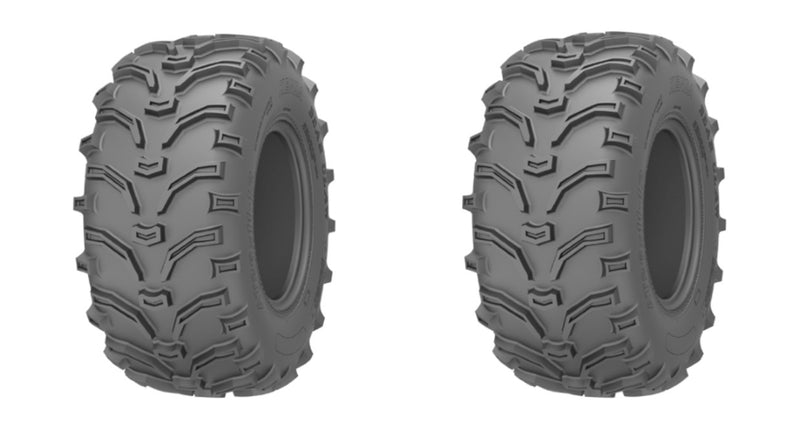 2 Tires Kenda ATV Tires K299 Bear Claw 26X9-12