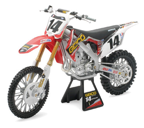 1/6 Geico Honda CRF450R 2012 (Kevin Windham) for $58.95 at NE Cycle Shop