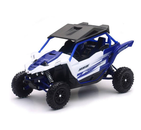 New Ray 1/18 Scale Yamaha YXZ1000R (Blue)