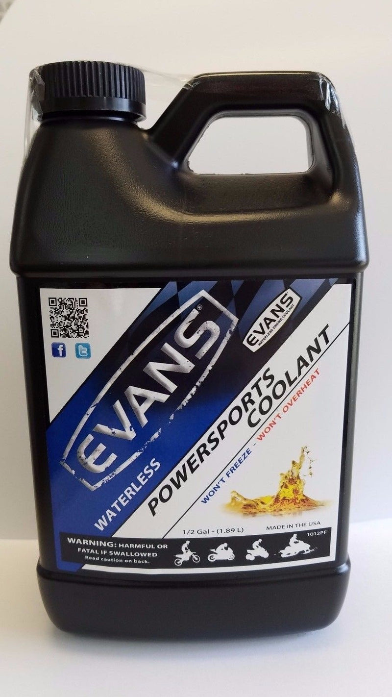 Evans Coolant EC72064 Powersports Waterless Engine Coolant, 64 fl. oz.
