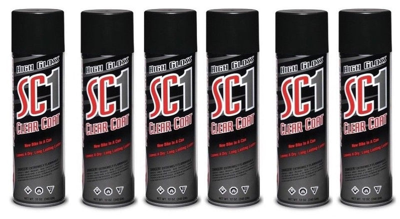 Maxima  SC1 Silicone Detailer Spray 6 Cans - 12 oz each