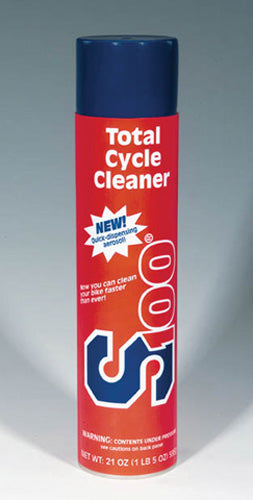 2 Cans of S100 Cycle Cleaner 21 oz Aerosol