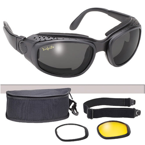 Airfoil Goggles 9100 3 Interchangeable Lenses