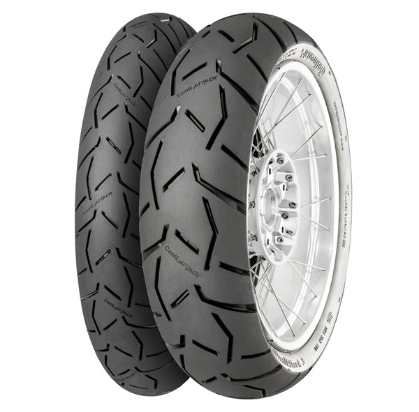 Continental Trail Attack 3 - 90/90V21 M/C (54V) TL (Front Tire)