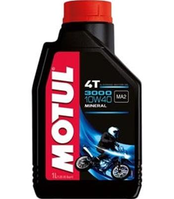 Motul 3000 4T Motorcycle Oil 1 Liter 107672