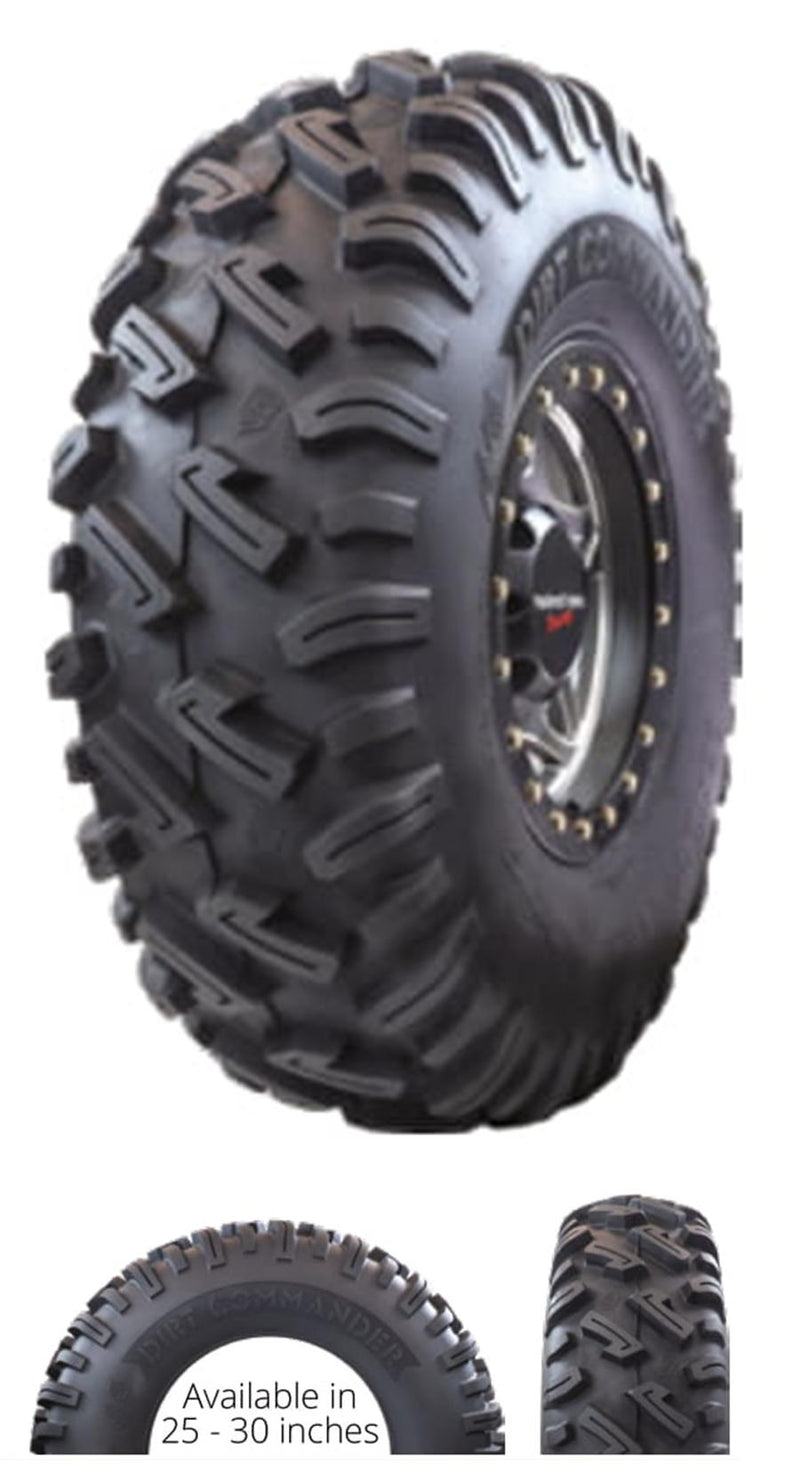 25x8.00-12 GBC Kanati Dirt Commander UTV/ATV Bias (8-ply) (1 Tire) 25-8-12 AE122508DC