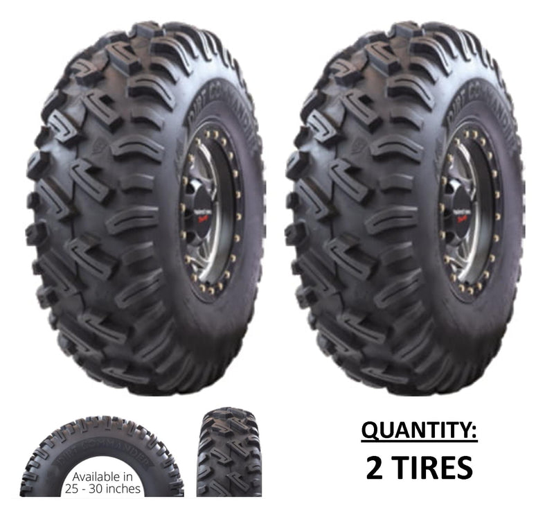 25x8.00-12 GBC Kanati Dirt Commander UTV/ATV Bias (8-ply) (2 Tires) 25-8-12 AE122508DC