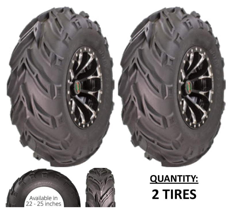 25x10.00-12 GBC Kanati Dirt Devil UTV/ATV Bias (6-ply) (2 Tires) 25-10-12 AR1230
