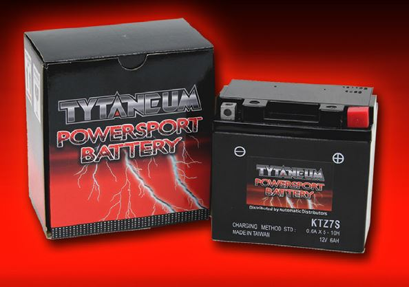 Tytaneum M.F. Battery KTZ7S with Acid
