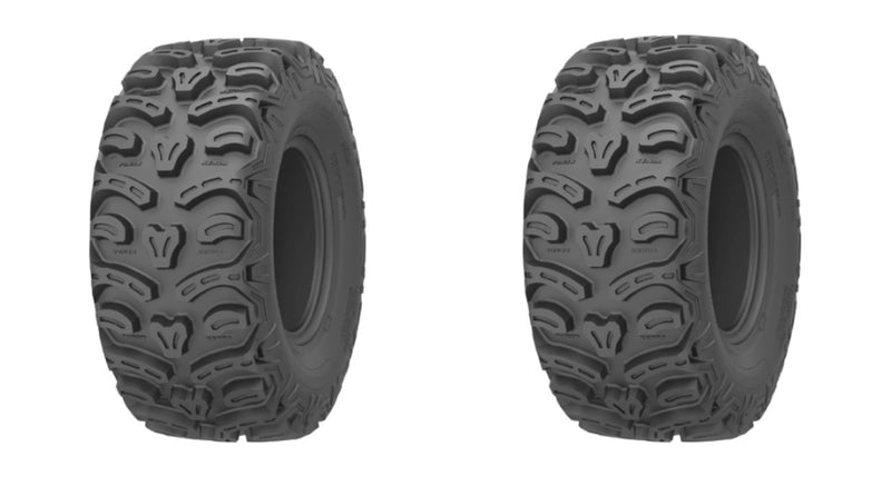 2 Tires of Kenda K587 Bear Claw HTR AT 26 X 9R-12 TL 8 PLY