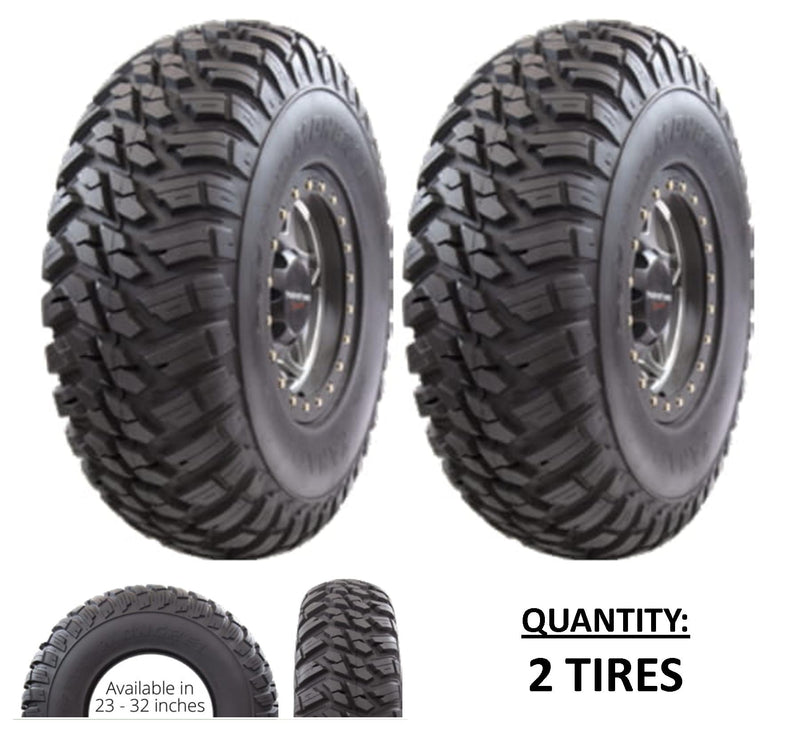 25x10R12 GBC Kanati Mongrel UTV/ATV Radial (10-ply) (2 Tires) 25-10-12 AM122510MG