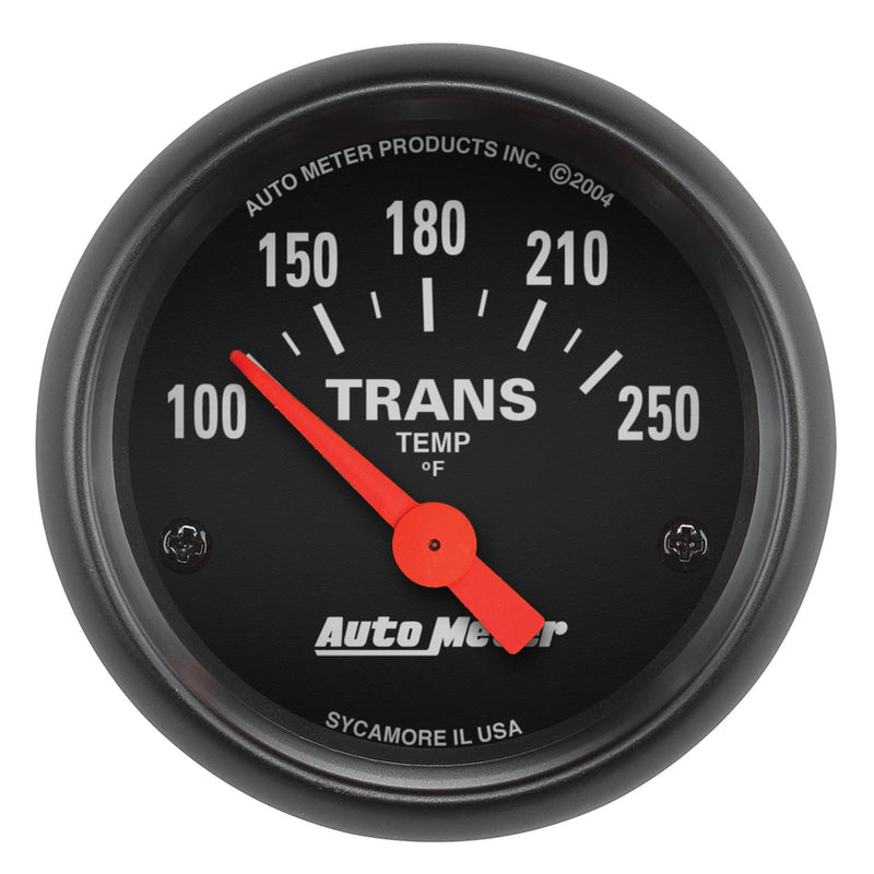 "Auto Meter Z-Series Transmission Temperature Gauge 2-1/16"" Electrical 2640"