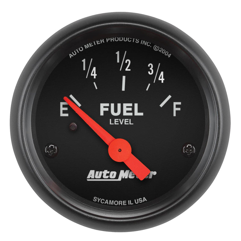 "Auto Meter Z-Series Fuel Level Gauge 2-1/16"" Electrical 2641"