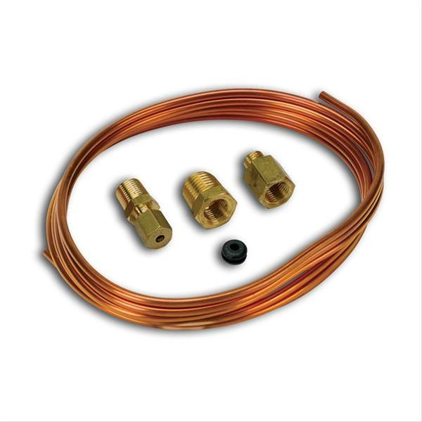 "Auto Meter 1/8"" Diameter Copper Tubing, 6-Feet Long 3224"