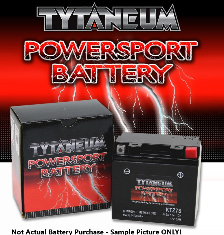 Tytaneum PS Battery 12N9-4B-1, w/acid