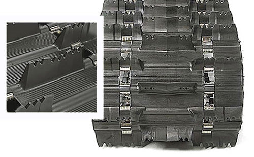 "Camso Challenger Mtn. Track 16"" X 137"" - 2"" Part # 9186M"